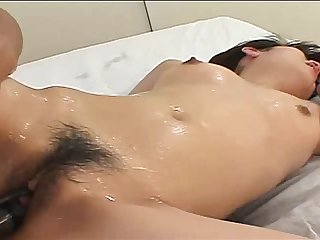 Asian cutie gets fingered before he fucks her in hardcore fashion