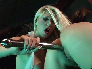 Brutal sex down at put emphasize strip bar be proper of two dolls