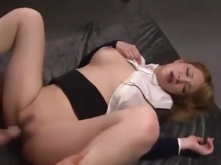 Mion Sonoda group sex fuckking office lady japanese girl big pair