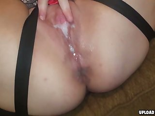 Licking My Wifes Hairy Pussy Before I Start Fucking Her