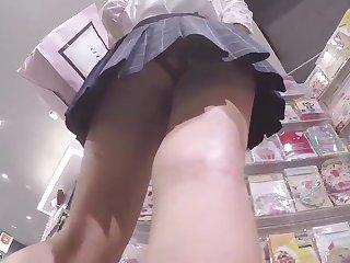 Japanese schoolgirl upskirt 11