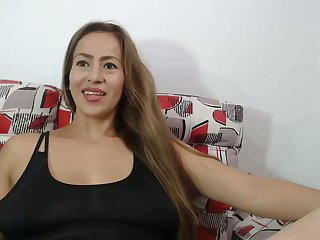 my horny stepmom lactactes on webcam