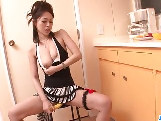 Strenuous blowjob exceeding a handful of cocks by Ann Yabuki