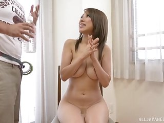 Japanese babe in arms Kitagawa Eria exposes their way tits coupled with gets fucked
