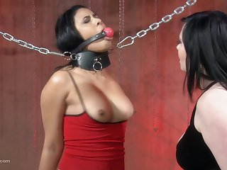 Deity makes her slave pule so hard unfamiliar on all sides of the pain