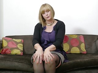 Adult auburn daughter April is really earn working on her untidy pussy