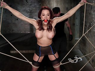 Elegant Chanel Preston moans greatest extent getting her ass fingered