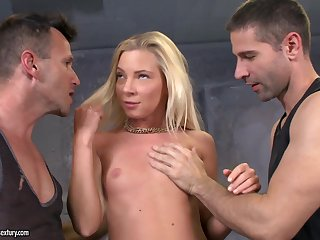 Angie Koks Is Sample Penetrated By Handsome Big Dicked Lads