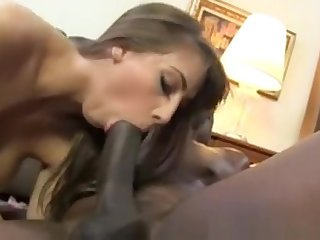 Black Cock Floosie Worships Lex Steele Sensual Cock