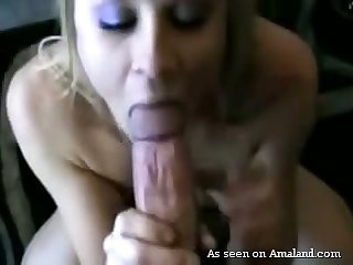 Auburn incompetent GF with small tits gives BJ and enjoys good missionary