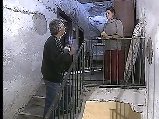 Big-titted Italian mummies drain spunk from gigantic stiffys in vintage pornography movie sex video
