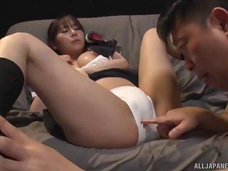 Have on the agenda c trick sex is what cute Japanese Nagase Minamo prefers with friend