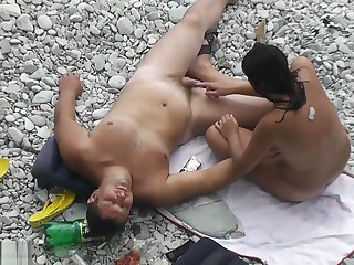 Beach Nudist Outdoor Fun