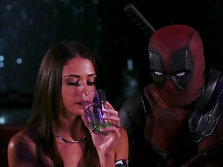 Wild carnal knowledge in a public place between Deadpool and Jennifer White