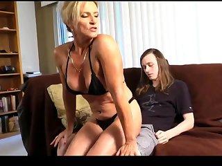 Cougar Amanda Pleased Her stepSon