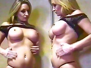 Big titties solo and Lesbian Dirty talk