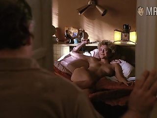 Annette Bening waiting for will not hear of alms-man in confines while being absolutely naked