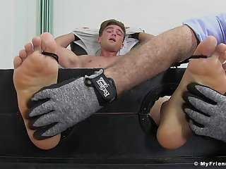 Owen Gold engages about a kinky experimental tickling fetish session