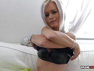 Loved aunt shows off her tight wet pussy