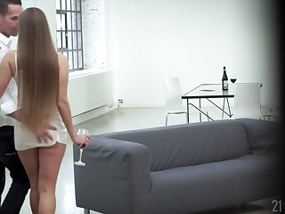 Hot young woman gets herself a mature lover and go off at a tangent girl loves to get fucked