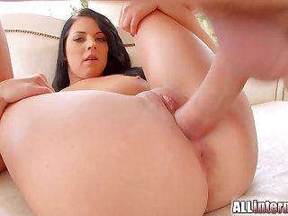 On all sides INTERNAL - Her first every vaginal creampie