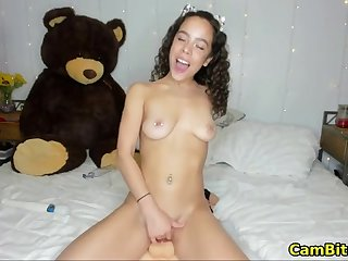 Lord it over teen loves fucking her pussy everywhere numerous toys