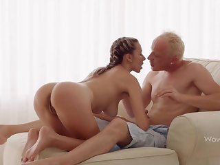 WOWGIRLS, Super Wet Joanna Lets the Sponger Fuck Will not hear of As He Wants