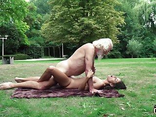 70 yr senior granddad pulverizes faithful yr elder feminine wails and aroused