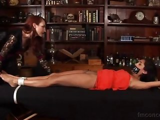 chloe table tickling