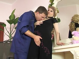 Mind-Sucking Sodomy Fuck-A-Thon And Facehole Jizz Bruit about With Mature Flattie